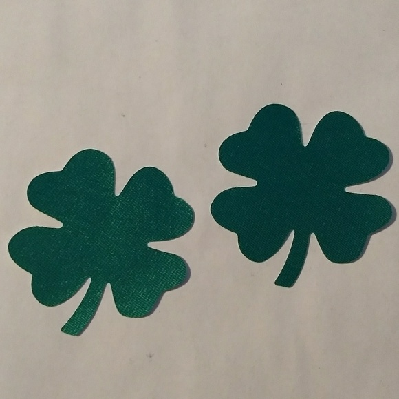 Other - FOUR LEAF CLOVER PASTIES + more styles! *5 PAIRS*
